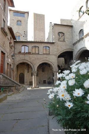 Viterbo, Włochy: Quartiere San Pellegrino