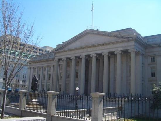 United States Department of the Treasury: OK now this place is where your money is made! US Treasury!