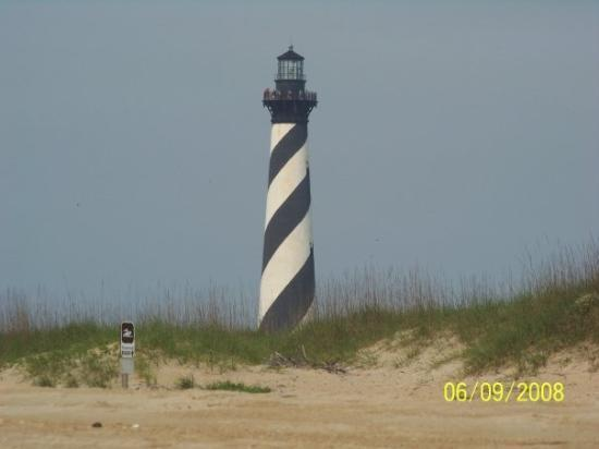 Cape Hatteras Lighthouse: Cape Hatteras from the beach