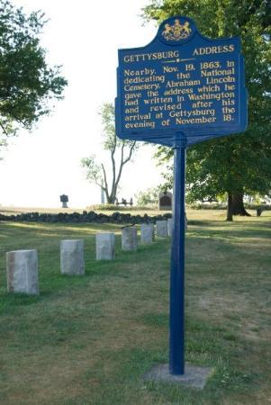 Gettysburg National Cemetery Photo