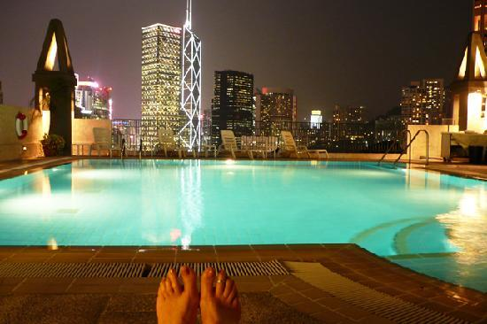 Bishop Lei International House: Small but nice rooftop pool