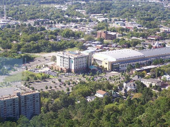 Embassy Suites by Hilton Hot Springs: Embassy Suites As Seen From The Hot Springs Mountain Tower