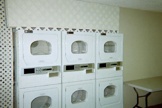 Suburban Extended Stay Hotel of Jacksonville / Baymeadows: On Site Laundy Facilities - Dryer Area