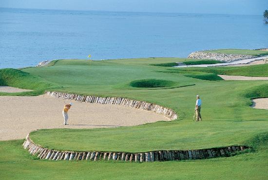La Cana Golf Course: Hole 17 at La Cana Golf Club