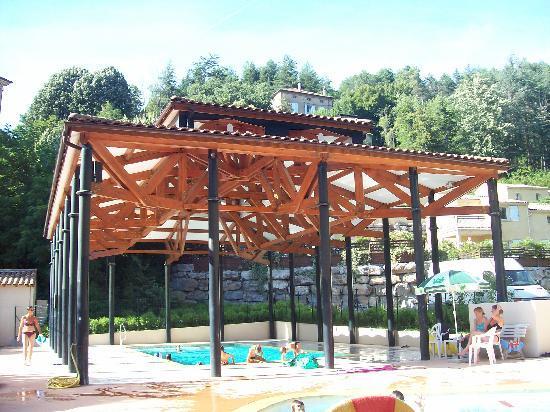 Vals-les-Bains, Frankrike: piscine