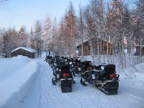 Rantasipi Rukahovi: Finnish traffic jam