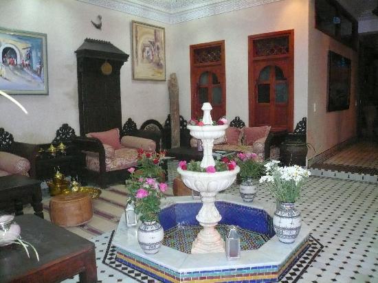 Riad El Wiam: intérieur du riad
