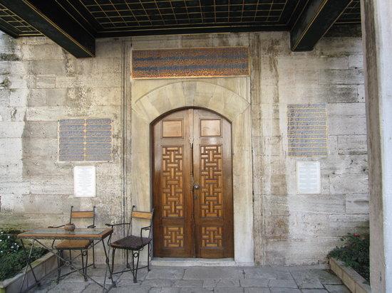 Caferaga Medresesi : Doorway to one of the artist workshops