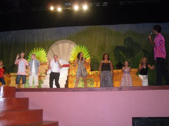 Grand Bahia Principe Coba: Us On Stage