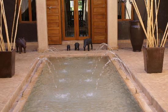 Villa Jenaima Marrakech: l'entrée