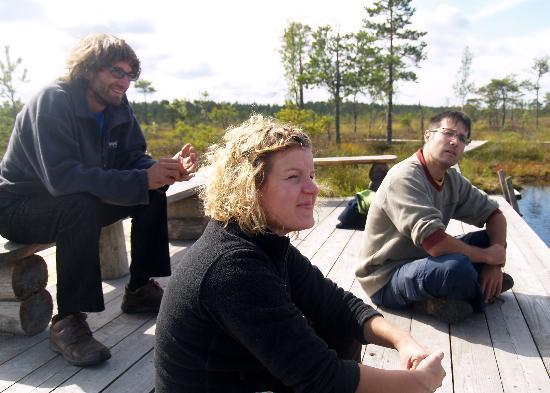 Estonia: Enjoying a view