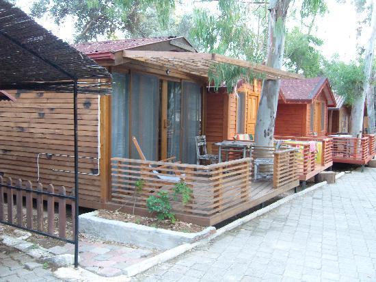 The Sugar Beach Club: a rather nice cabin