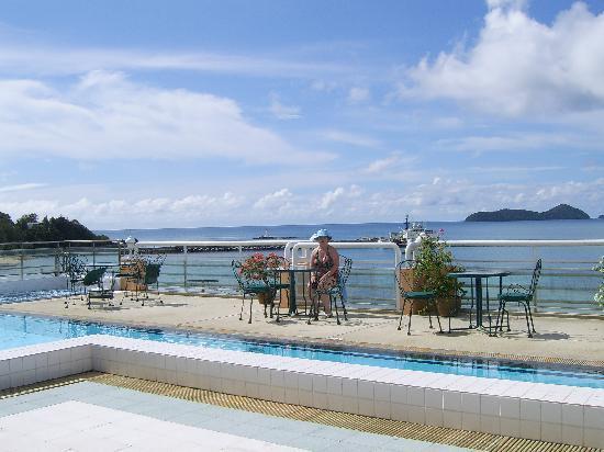 Kantary Bay, Phuket : The roof top swimming pool