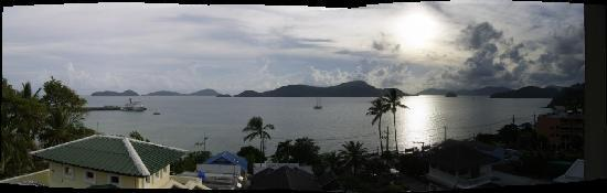 Kantary Bay, Phuket: View from our balcony
