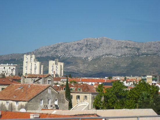 Split, Croatie : the view