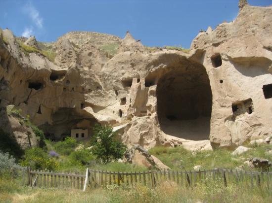 Urgup, Turkey: a monastery in capadoccia