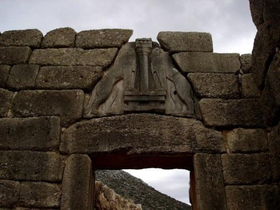 Lion Gate: MICENAS: LA PUERTA DE LOS LEONES