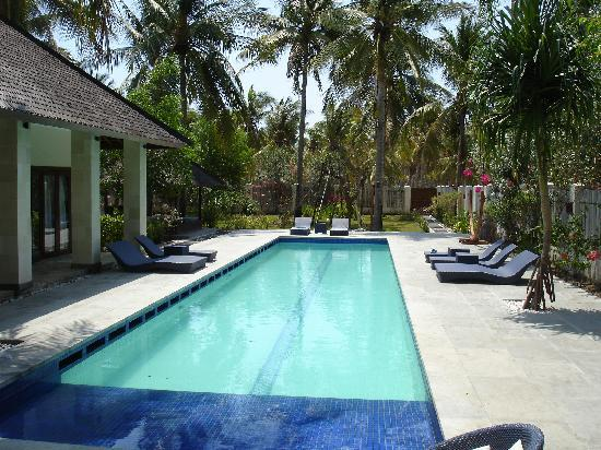 Kelapa Luxury Villas: Villa Marina pool day