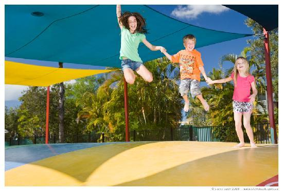 NRMA Treasure Island Holiday Park: Jumping Pillow