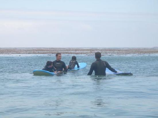 South Bay Surf Lessons: Waiting for waves