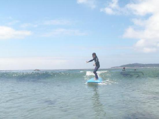 South Bay Surf Lessons: Hang Ten!!