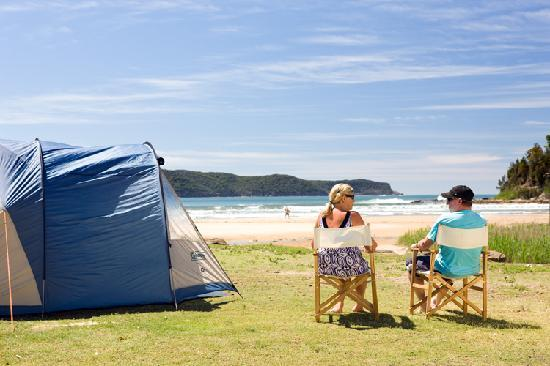 NRMA Ocean Beach Resort and Holiday Park: Powered Tent Site