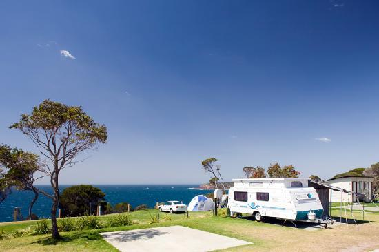 NRMA  Merimbula Beach Holiday Park: Ensuite Site