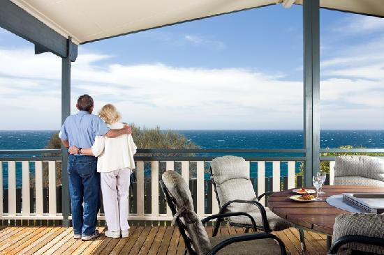 NRMA  Merimbula Beach Holiday Park: Great views from most accommodation and sites