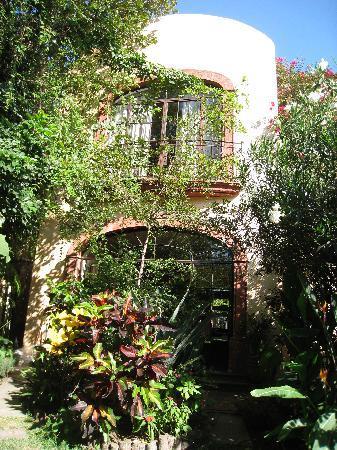 Villa Ganz: rear fascade