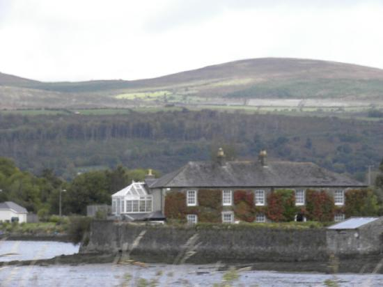 Cairbre House: From across the river