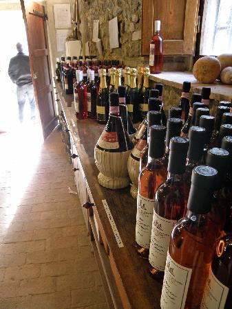 Fattoria San Donato: try the Vin Santo!