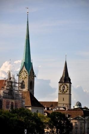 Church of Our Lady (Fraumunster): Fraumünster and St. Peter