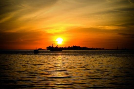 Golden Hour at Losari Beach - Makassar
