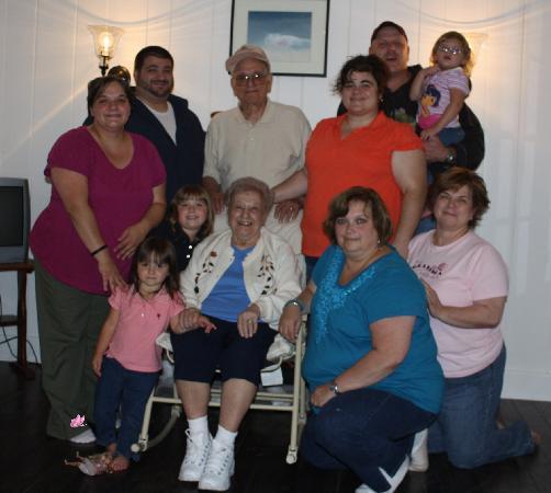 The Orendaga on Northville Lake: Our family!