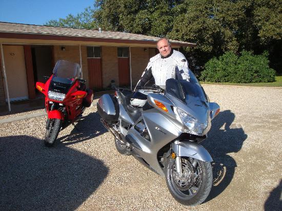 Dietzel Motel: Getting ready for another ride in the Hill Country