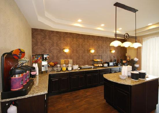 Comfort Inn Near SeaWorld: Breakfast Area