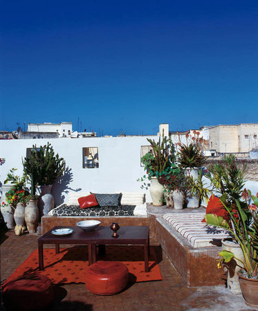 Riad Numero 9: roof garden