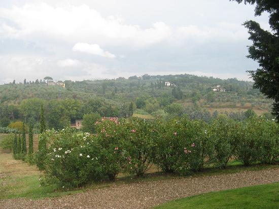 Villa Poggio ai Merli : View From the Reception Area