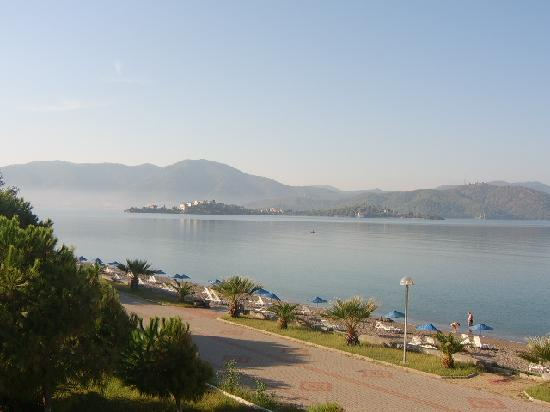 Seketur Hotel: The view from our balcony