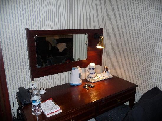 Regency House Hotel: Le bureau (chambre 9)