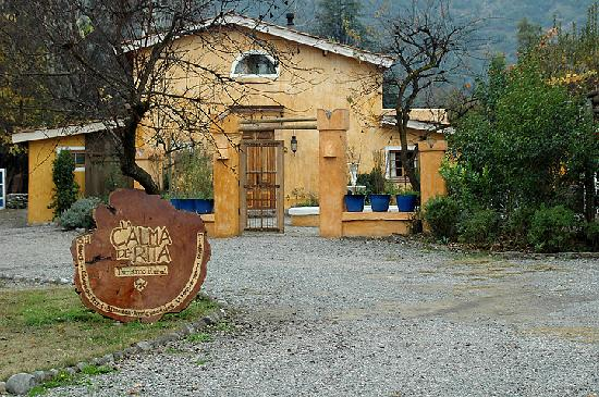 Pirque, Chili: Main view from the entrance