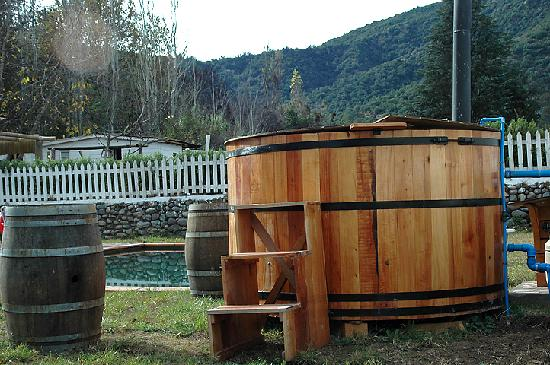 La Calma de Rita: Hot Tubs with a view to the Andes