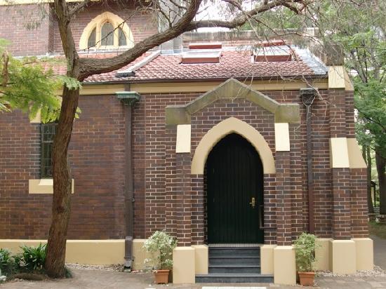 Anderledy Lodge: Church on the premises
