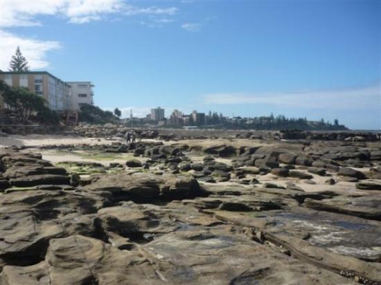 Caloundra, Australien: colandra city beach