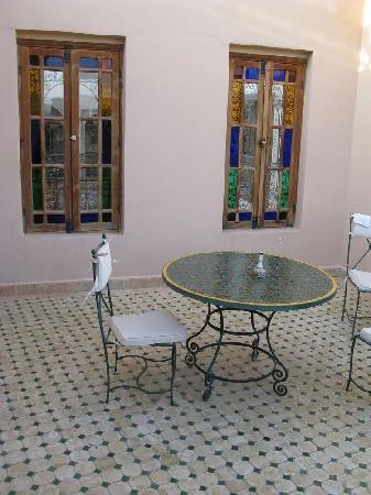 Dar Al Andalous: Balcone Batha