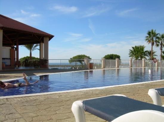 El Rompido, Spanien: Hotelpool