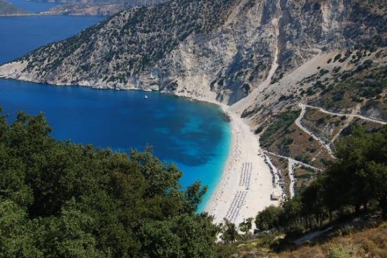 Myrtos Beach: Myrthos beach