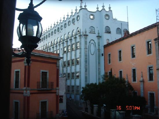 Hotel Casa del Agua: view from balcony