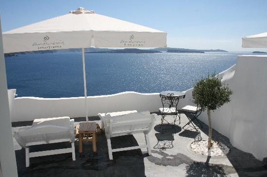 Andronis Luxury Suites: Hera Suite Balcony II