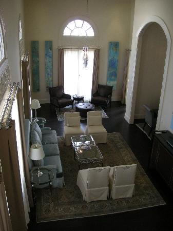 The Presidential Suite we saw on the tour